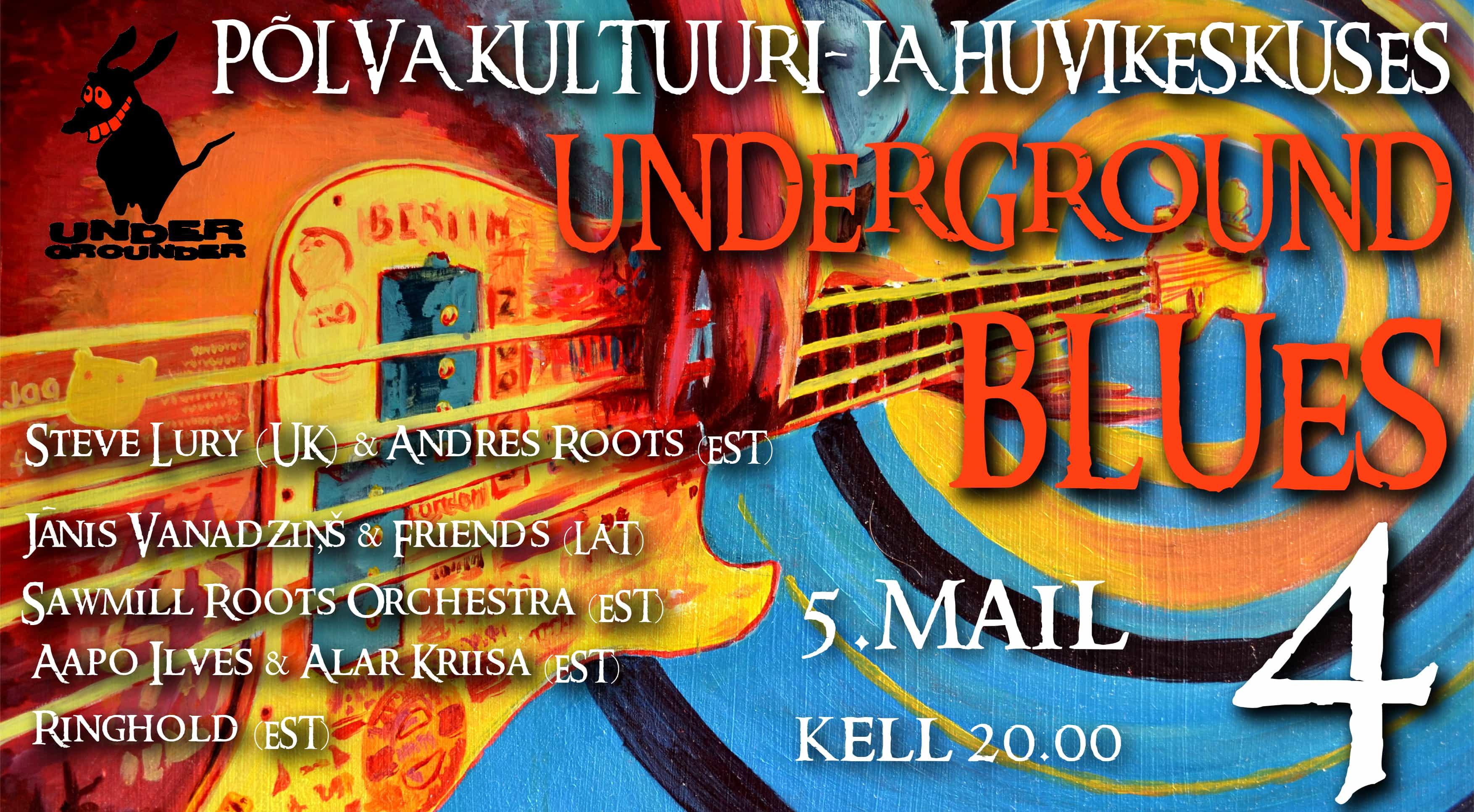 UNDERGROUND BLUES 5. mail kella 20:00 banner