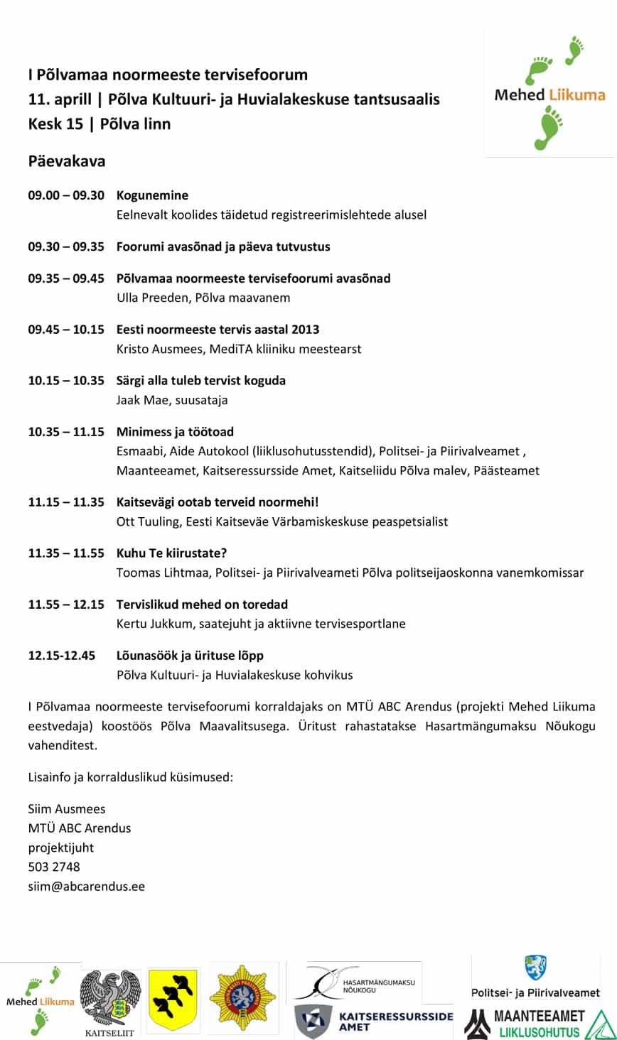Päevakava_Põlvamaa_noormeeste_tervisefoorum