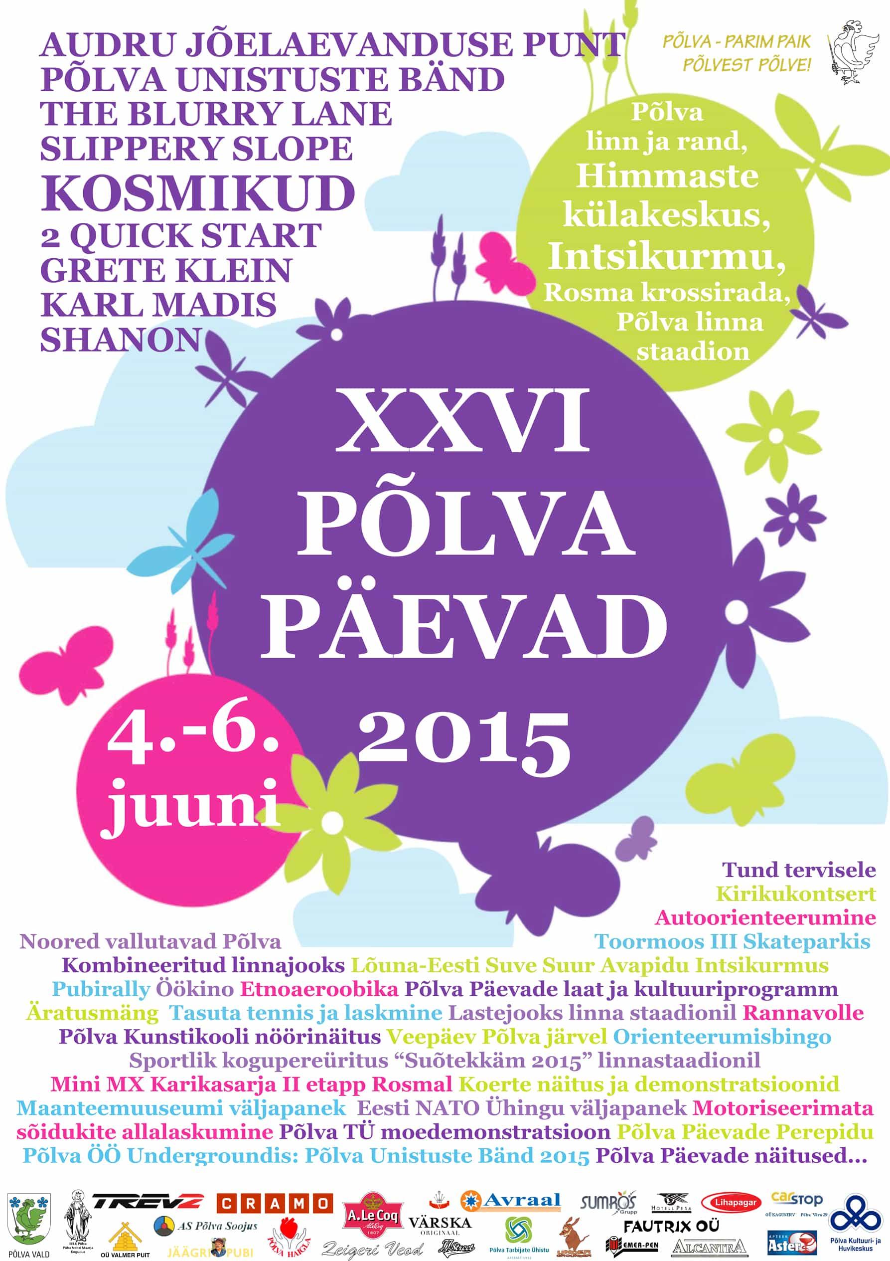 XXVI Põlva Päevad 2015